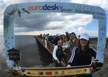 Eurodesk Gençler Kızılırmak Deltasında